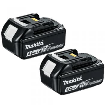 Makita BL1840X2 18v 4.0ah LXT Li-ion Makstar Battery Twin Pack